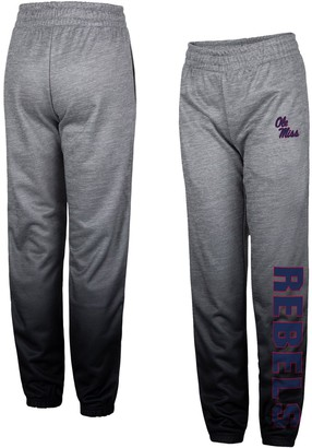 Colosseum Youth Heathered Gray Ole Miss Rebels Electric Mayhem Pants