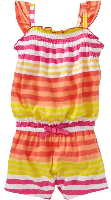 Old Navy Printed Jersey Rompers for Baby