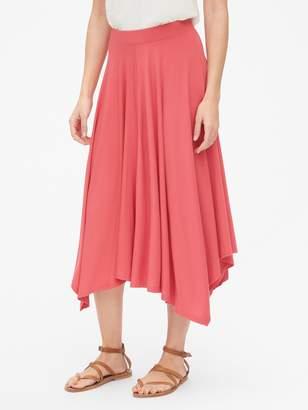 Gap Handkerchief Midi Skirt