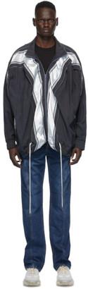 Y/Project Grey Pop Up Jacket