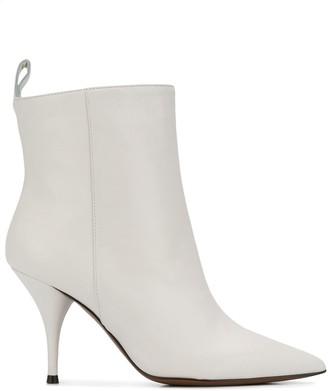 L'Autre Chose Pointed 90 Ankle Boots