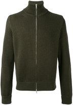 Maison Margiela ribbed zip-up cardigan - men - Wool - M