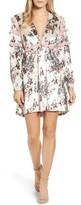 Kas Women's Melisa Floral Velvet & Lace Shift Dress