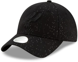 New Era Women's Black San Antonio Spurs Sparkle 9TWENTY Adjustable Hat