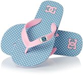 DC Girl%27s Spray Graffik Flip Flops
