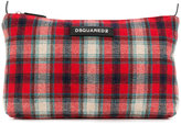 DSQUARED2 tartan pouch