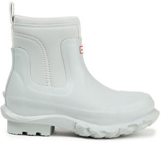 Stella McCartney + Hunter Neoprene And Rubber Rain Boots