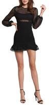 Bardot Savannah Long Sleeve Lace Minidress