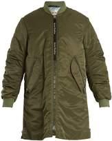 Acne Studios Coos long-line padded bomber jacket