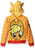 Freeze My Little Pony Apple Jack Hoodie (Big Girls)