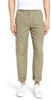 Current/Elliott Men's The Worker Cotton & Linen Pants