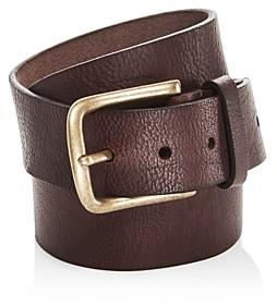 Frye Men's Flat Panel Leather Belt