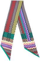 Missoni striped scarf - women - Silk - One Size