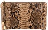 Michael Kors Python Wristlet