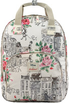 Cath Kidston Townhouse Dogs Multi Pocket Backpack