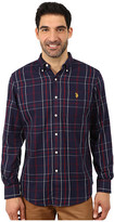 U.S. Polo Assn. Plaid Sport Shirt