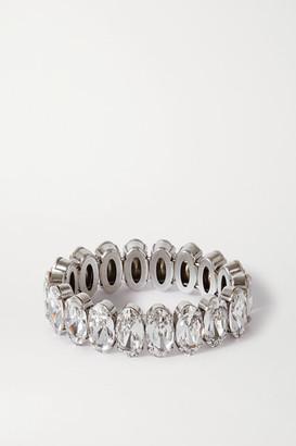 Isabel Marant Ho La La Silver-tone Crystal Bracelet - 1