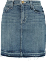 Current/Elliott The Skinny Mini denim mini skirt