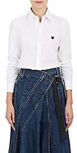 Comme des Garcons Women's Cotton Poplin Shirt - White