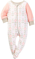 Boppy Owl Floral Sleep 'n' Play Footie (Baby Girls)