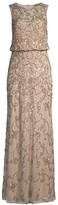 Aidan Mattox Blouson Beaded Gown