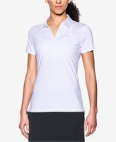 Under Armour Zinger Striped Golf Polo
