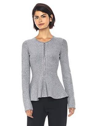 Theory Women's Long Sleeve Peplum Jacket