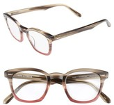 Corinne McCormack Women's Annie 46Mm Reading Glasses - Taupe Fade Berry