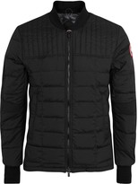 Canada Goose Dunham Black Quilted Shell Jacket