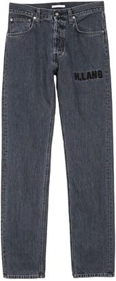 Helmut Lang Masc High Waisted Straight Leg Jeans