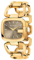 Gucci Ladies Medium Gold Square Bracelet Watch
