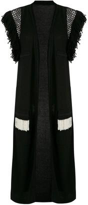 Andrea Bogosian Rosalia knitted long vest