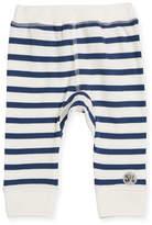 Molo Striped Cotton Sailor Soft Pants, Size 6-24 Months