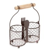 Bed Bath & Beyond Home Essentials & Beyond Wire 2-Section Utensil Caddy