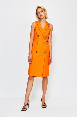 Karen Millen Sleek And Sharp Tailoring Dress