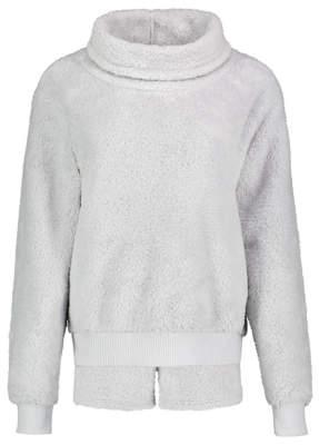 George Grey Sparkle High Neck Fleece Short Loungewear Set