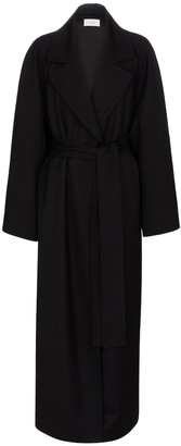 The Row Zol belted wool coat