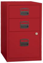 Bindertek 3 Drawer Steel Home or Office Filing Cabinet