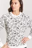 Forever 21 Panda Print Sweatshirt