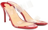 Christian Louboutin Just Nothing 85 PVC sandals