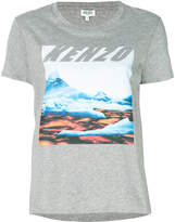 Kenzo landscape print T-shirt