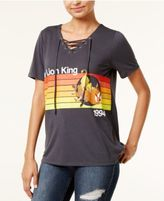 Disney Juniors' The Lion King Lace-Up Graphic T-Shirt