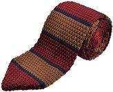 Alizeebridal Men's Sharp-edge Knit Necktie