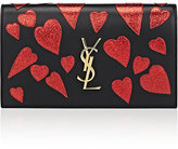 Saint Laurent Women's Monogram Kate Clutch-BLACK