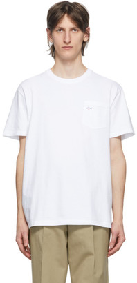 Noah NYC White Logo Pocket T-Shirt