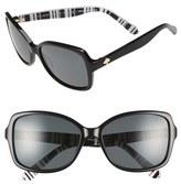 Kate Spade 'ayleen' 56mm Polarized Sunglasses