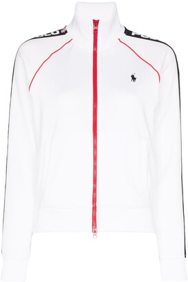 Polo Ralph Lauren Zip-Up Logo-Print Track Jacket