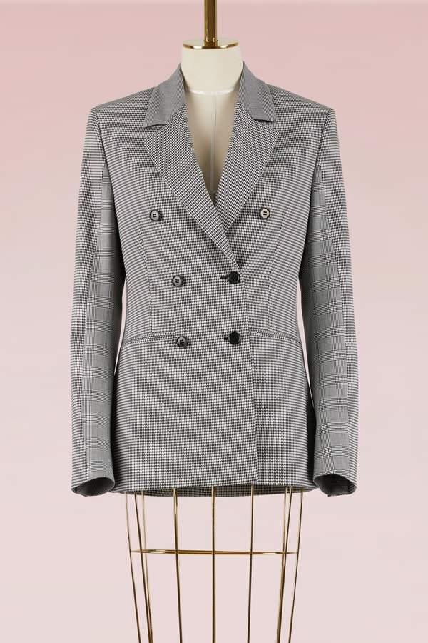 MSGM Mixed check wool Jacket