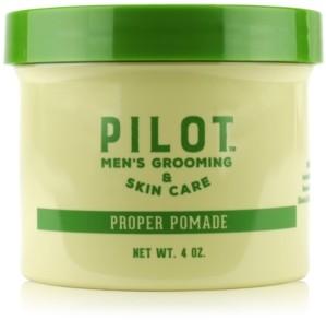 Pilot Men's Grooming & Skin Care Proper Pomade, 4-oz.