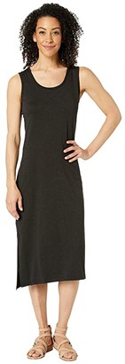 Toad&Co Samba Paseo Midi Dress (Black) Women's Dress